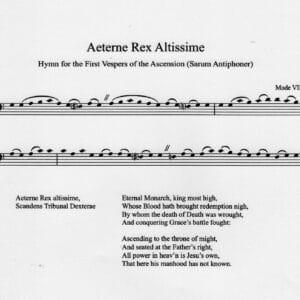 Aerterne Rex Altissime download-0