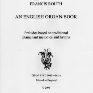 An English Organ Book score -0