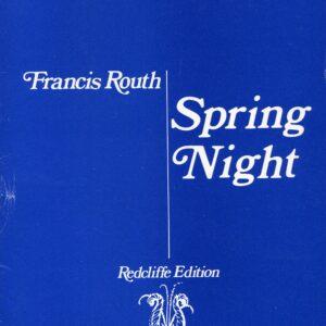 Spring Night Op 23 Vocal Score-0