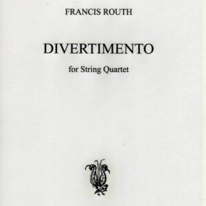 Divertimento for String Quartet Op 66 -0